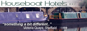 Stay in fully equipped floating hotel suites in the City Centre, Sheffield