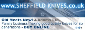 Old Meets New! Jack Adams, 'Sheffield Knives' 6th generation knife manufacturer - Buy online