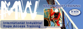 Mark Wright Training - Industrial Rope Access and Work at Height Training