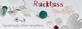 Reckless necklace - imaginative handcrafted jewellery maker