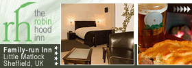 Excellent hotel accommodation in a beautiful location, plus traditional food and ales