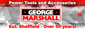 Buy or hire power tools and accessories from George Marshall